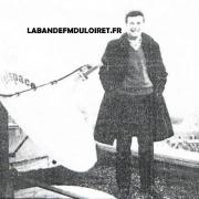 Nicolas chiloff en 1987 sur les toits des studios