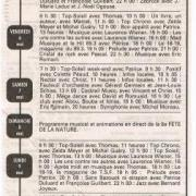 grille des programmes 1994