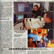 article de presse janvier 2009