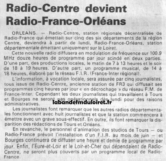 article de presse 4 fév. 1985