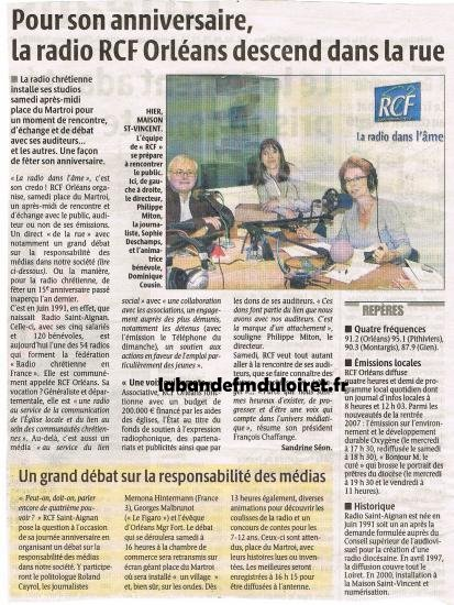 article de presse septembre 2007