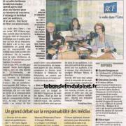 article de presse septembre 2007