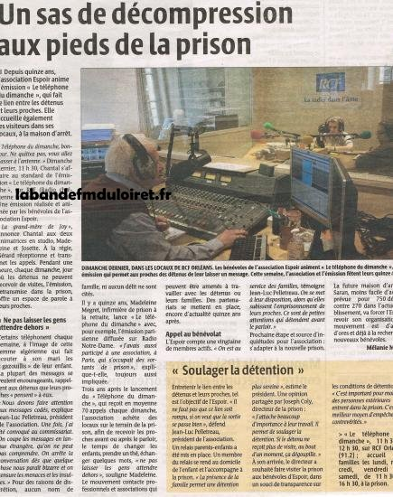 article de presse 3 octobre 2010