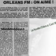 article de presse 12 avril 1982