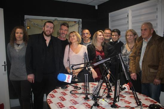 7 décembre 2018 , inauguration 36 rue Guy de Maupassant