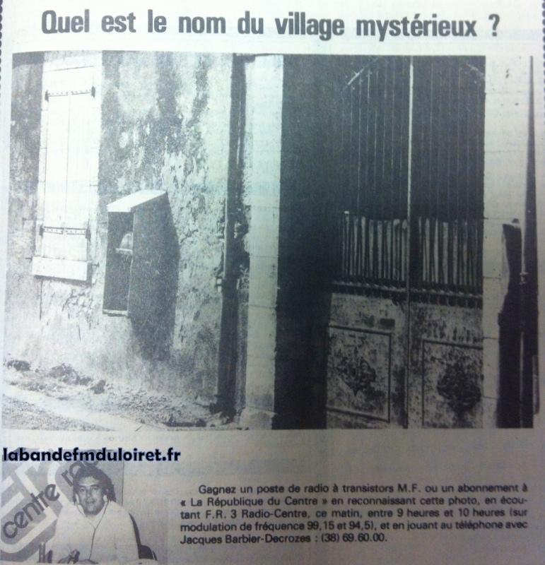 """1981, jeu_concours avec """"la République du centre."""""""