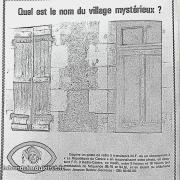publicité 1981, avec jeu-concours