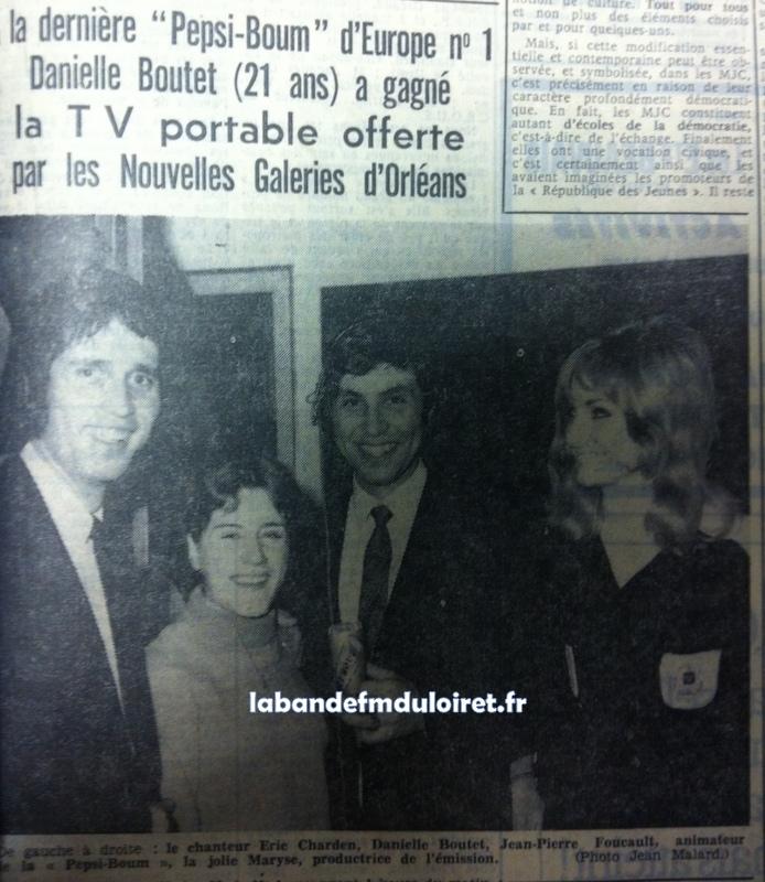 """extrait de """"la Republique du Centre""""11 avril 1968"""