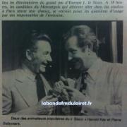 septembre 1980, Montargis reçoit Europe 1 pour son jeu 'le Sisco'