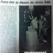 article de presse RC 9 octobre 1981