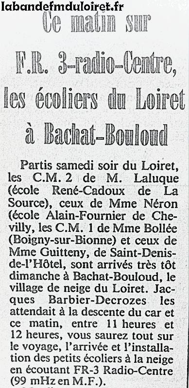 article de presse mars 1981