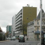 L'immeuble abritant NRJ dans les années 80