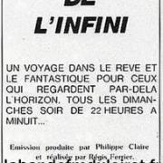 Publicité fin 1983