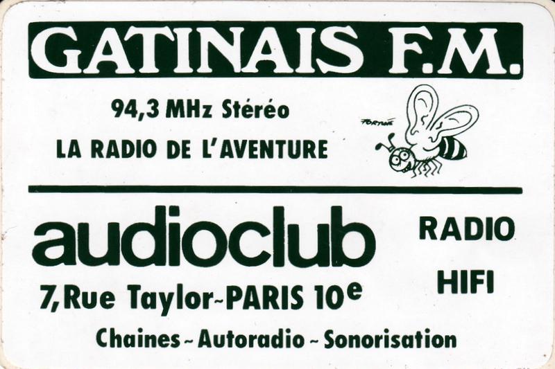 autocollant Gâtinais FM