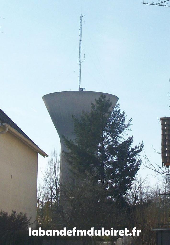 l'antenne de RVL d' Orléans/Fleury les Aubrais