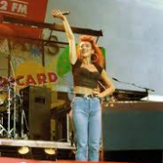 1989 Ricard live Music. ici avec Julie Pietri