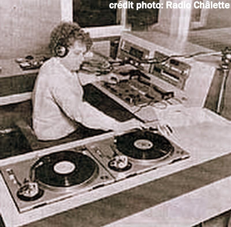 Didier Roquet en 1984 aux platines!